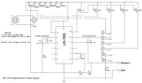 High Voltage Bench Power Supply - 10a variable bench power supply
