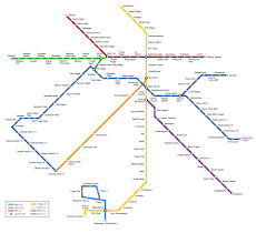 Blue Line Metro Map by Welcome To Igs 2016