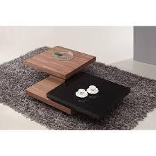 cheap black glass coffee table cheap giomani ivana rotating coffee table with free national