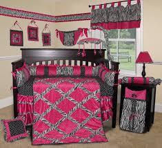 Baby Bedding Baby Boutique Pink Zebra 14 Pcs Crib Bedding Set Incl