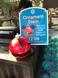 wdw news today on awesome mickey ornament stein for sale