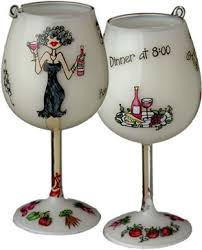228 best wine glasses images on glass painted wine