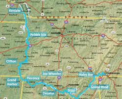 Map Of Chattanooga Tennessee by Tennessee River Cruise To Chattanooga 2013 U003e Great Loop Cruising