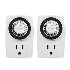 Outdoor Timer For Lights by Electrical Outlet Timer Ebay