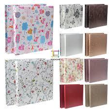 high capacity photo albums high capacity cloth paper interleaf photo album scrapbooking