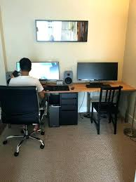 Small Computer Desk Ideas 2 Person Office Desk Office L Shaped Computer Desk Two Person In 2