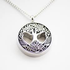 pendant for ashes cremation urn necklace for ashes sacred tree oneworld memorials