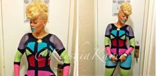 keyshia dior hairstyles keyshia ka oir blonde hair in new york city at straight stuntin