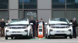 bmw i3 nauji u201ebmw i3 u201c elektromobiliai papildė u201ecitybee u201c automobilių