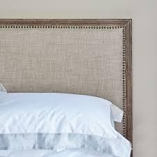 boston bed super king size natural linen brissi