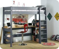 lit mezzanine 1 place avec bureau lit mezzanine en bois 1 place lit convertible lit mezzanine bois 1