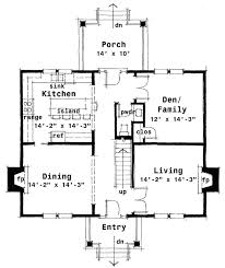Georgian Mansion Floor Plans Center Hall Colonial House Plan 44045td Architectural Designs