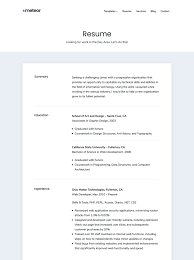 Resume Online Template Meteor Portfolio And Resume Wordpress Theme U2022 Array Themes