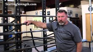 Starting Strength Bench Press Barbell Basics Starting Strength Equipment Youtube