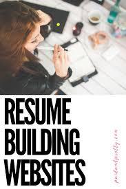Best Resume Builder Website by Best Resume Builder Websites Free Resume Example And Writing
