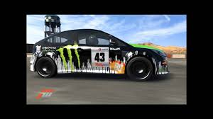 Focus Rs 2009 Forza 3 Ken Block Ford Focus Rs 2009 Youtube