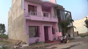 why south facing house front elevation with pink colour youtube