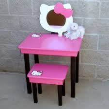 Pink Vanity Set Hello Kitty Bedroom Furniture Set Hollywood Thing