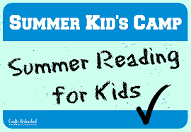 summer reading for kids kids camp at crafts unleashed