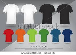 vector do tshirt camisa preta