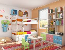 Bunk Beds And A Slide Best Of Both Worlds Via Home Decor For Kids - Kids bedroom ideas with bunk beds