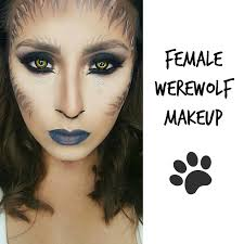 beauty addict on a mission female werewolf makeup ft spooky