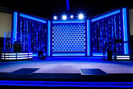 blue christmas lights in bedroom