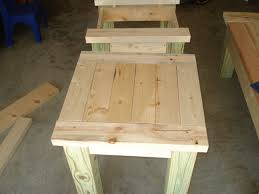 How To Make A Wooden End Table by Homemade End Tables Astounding On Table Ideas Also How To Build A