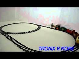 battery operated track set w sounds light colors