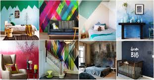 painting walls ideas wonderful painted wall decor ideas that will mesmerize you