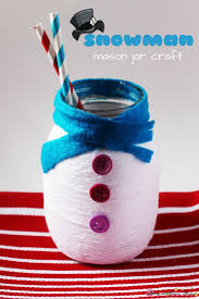 snowman mason jar homemade giftss and masons