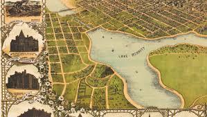 Oakland Zip Code Map by Oakland Ca Birds Eye View Map 1900 C1899