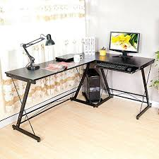 Cheap Computer Desks Uk Fold Out Computer Desk Folding L Shape Corner Home Office Computer