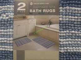 Spa Bathroom Rugs Costco 1068291 Town Country Spa Bath Rug Use Costcochaser