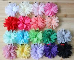 flowers for headbands 3 0 fabric flowers for headbands hair bows kid accessories