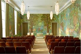 mural restoration in idaho falls lds temple a lengthy process