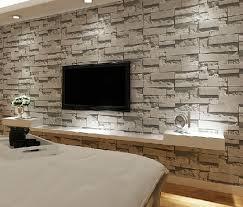 Grey Wallpaper Living Room Uk Brick Wallpaper Ideas For Living Room On Wallpaperget Com