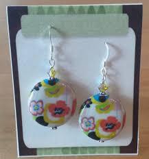 decoupage earrings decoupage earrings artrageus1 collective