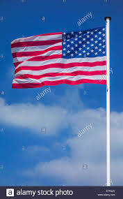 Flag With Cross And Stripes American Flag Waving Blowing Flapping Stars And Stripes Re White