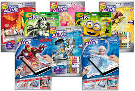 crayola color alive interactive coloring pages crayola