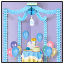 it s a boy decorations a boy blue baby shower decoration canopy kit