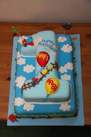 rafi u0026 gabi 1st birthday cake this cake was created for tw u2026 flickr