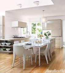 kitchen style marble kitchen island table with white dining