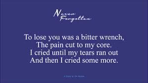 memorial poems for never forgotten memory poem