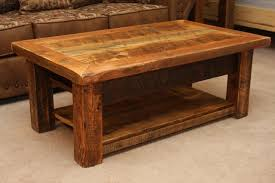 Rustic Coffee Tables And End Tables How To Make Rustic Wood Coffee Table Decor Homes