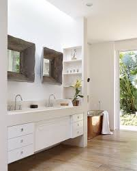 bathroom modern rustic bathroom decorating with tv and chandle