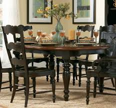 pretty large round seater oak room table furniture large round