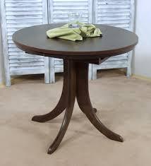 Esszimmertisch Buche Tisch Esstisch Küchentisch Rund Ausziehbar Massiv Holz Weiß Buche