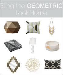 geometric home decor trend spotting geometric home decor thewhitebuffalostylingco com