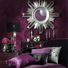 chambre baroque noir et chambre baroque violet noir chambre